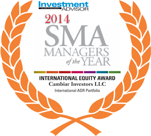 International Money Manager of the Year: Cambiar Investors