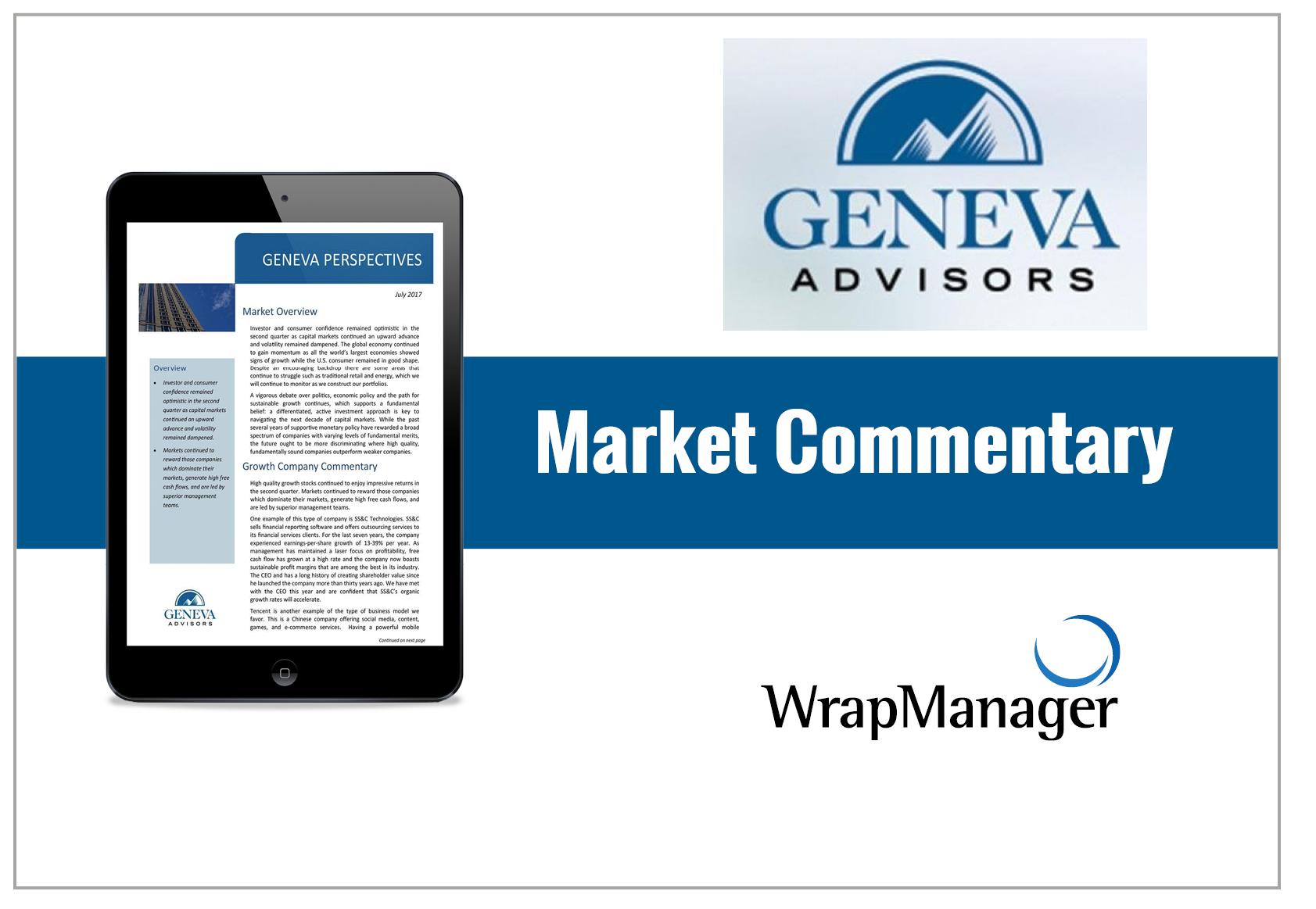 Geneva Reviews Fixed Income and Dividend Investing