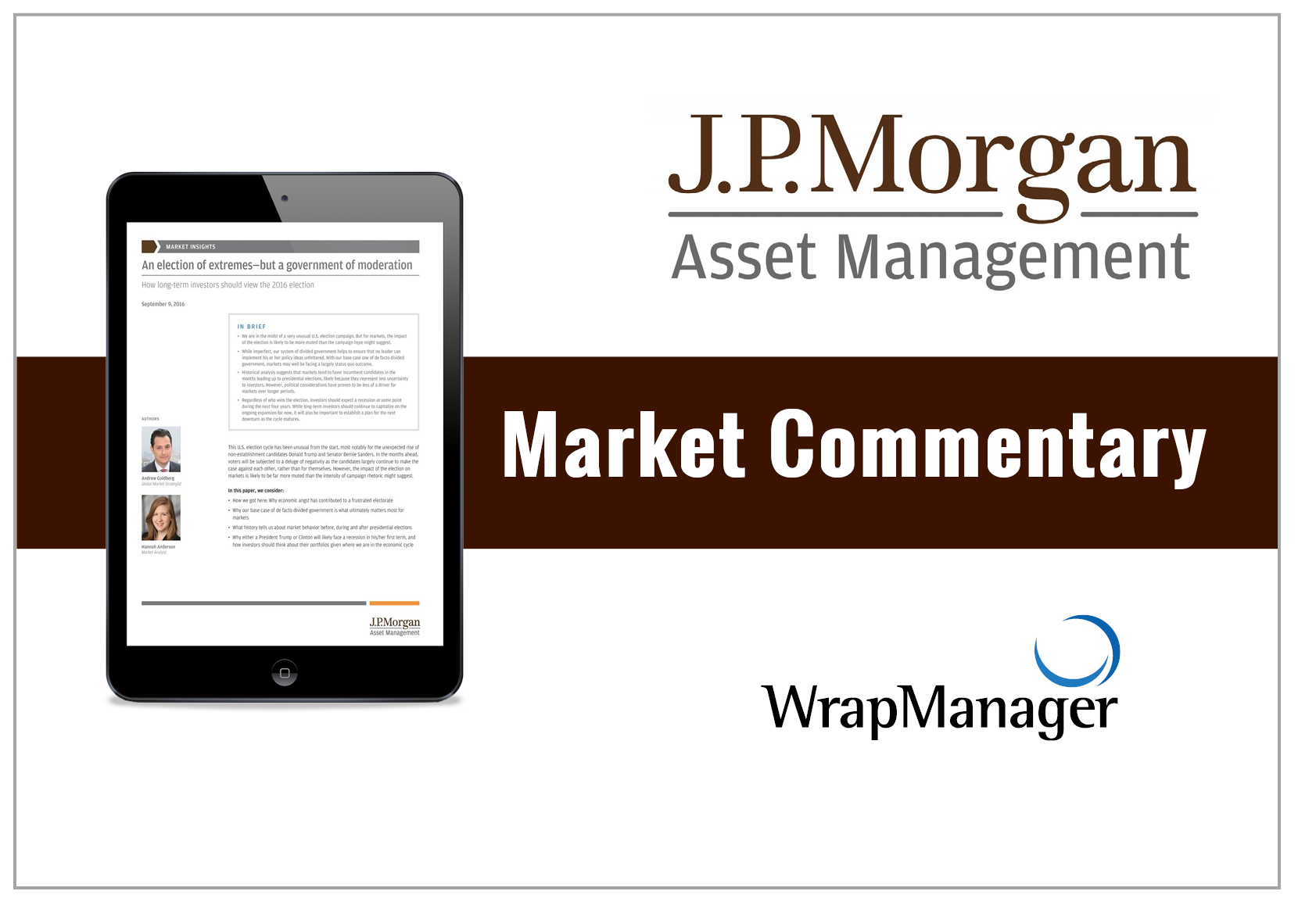 JP Morgan Sees Potential in Europe, Emerging Markets
