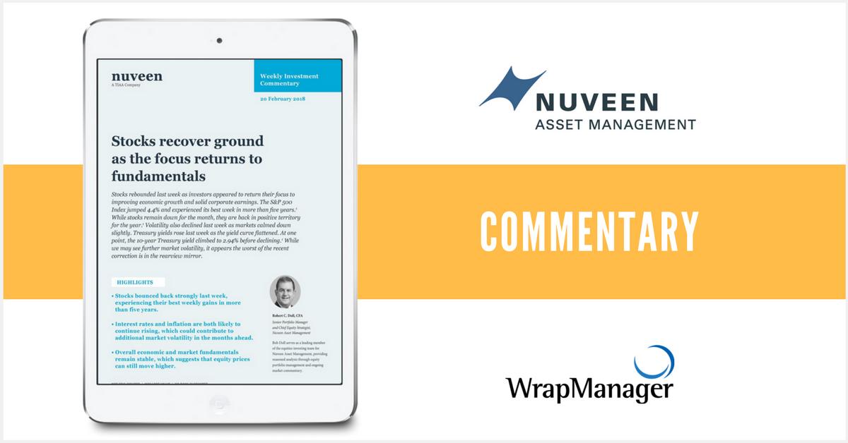 Nuveen Evaluates Environment for Market Growth, Volatility