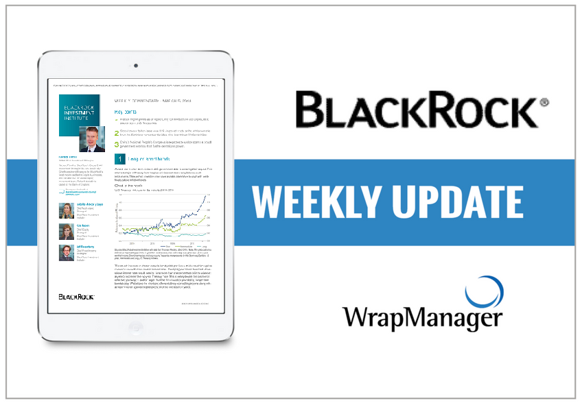 BlackRock Weekly Commentary Asks Is This As Good As It Gets?