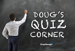 Which is Less Volatile, Stocks or Bonds? Doug's Quiz Corner
