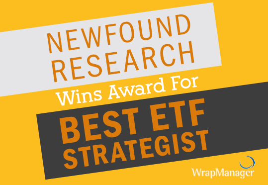 Newfound Research Wins Award for Best ETF Strategist from ETF.com