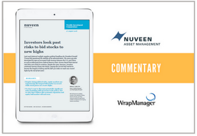 Nuveen Weekly Manager Commentary - August 28 2018