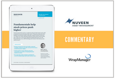 Nuveen Weekly Manager Commentary - July 30 2018