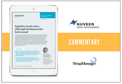 Nuveen Weekly Manager Commentary - May 31 2018