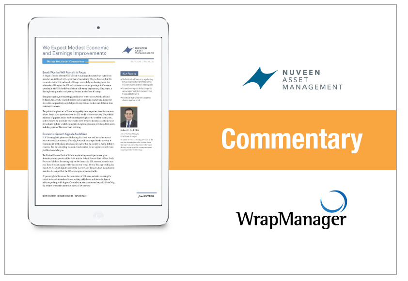 Nuveen Weekly Commentary July 2016
