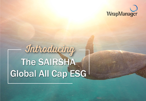 Introducing the WrapManager SAIRSHA Global All Cap ESG Portfolio