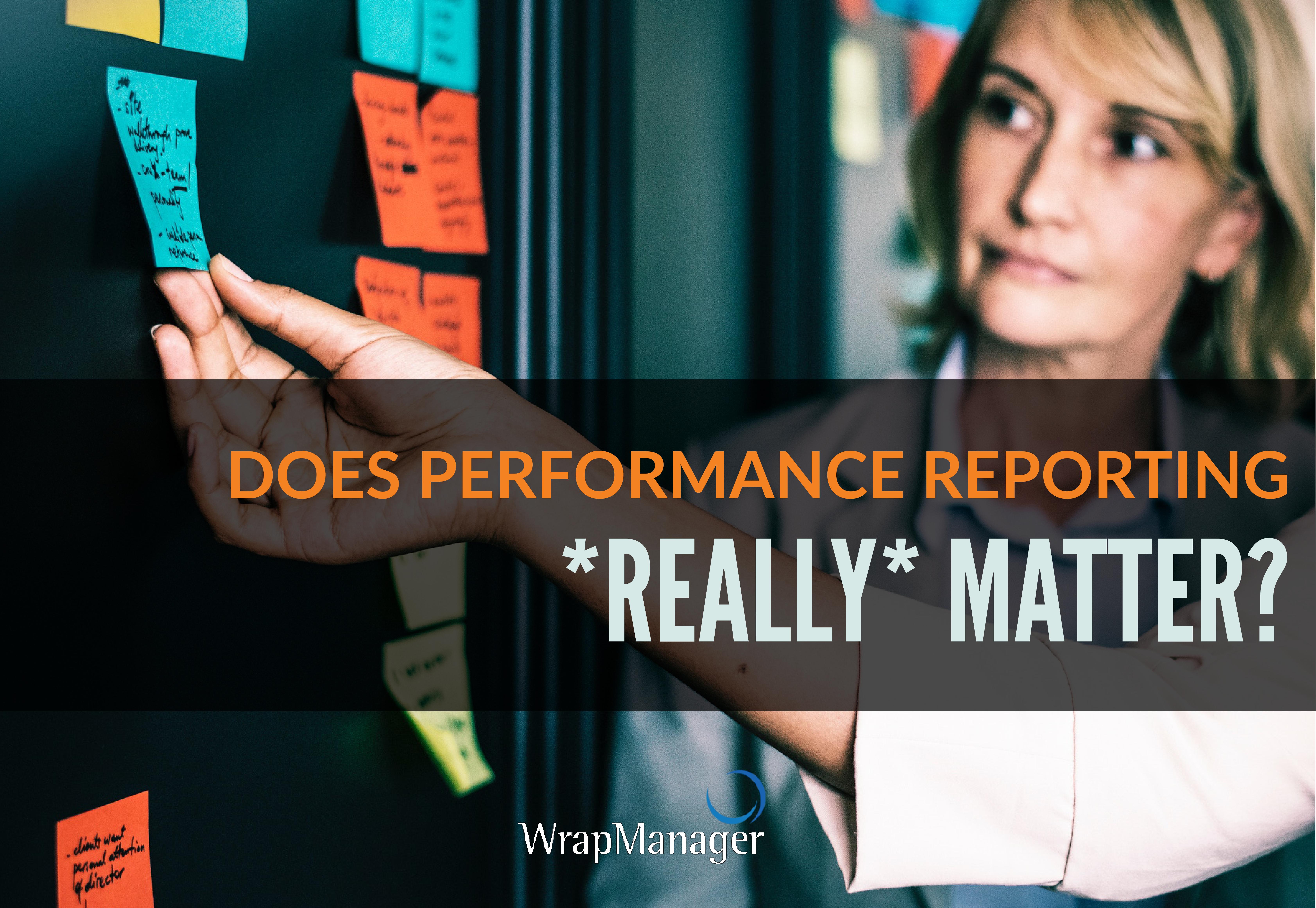 Performance Reporting: Does It Really Matter?